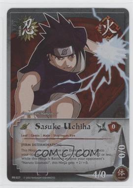 2006-2013 Naruto Collectible Card Game: - Assorted Promos #PR027 - Sasuke Uchiha