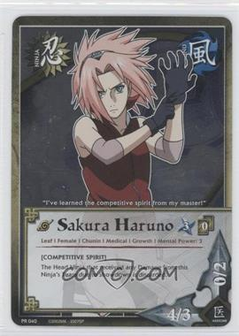 2006-2013 Naruto Collectible Card Game: - Assorted Promos #PR040 - Sakura Haruno