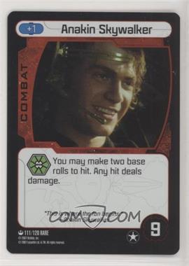 2007 Star Wars: Pocket Model Trading Card Game - Base Set #111 - Anakin Skywalker