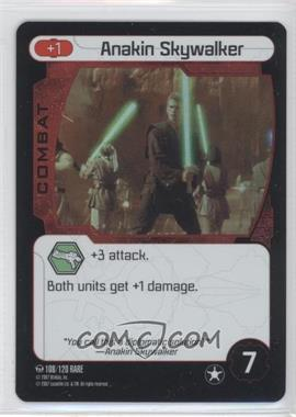 2007 Star Wars: Pocket Model Trading Card Game - Ground Assault Booster Pack #108 - Anakin Skywalker