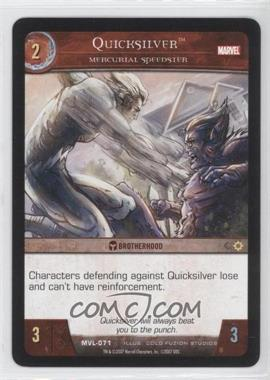 2007 VS System Marvel Legends - Booster Pack [Base] #MVL-071 - Quicksilver