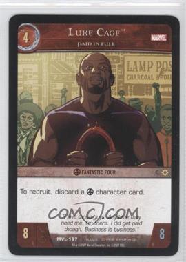 2007 VS System Marvel Legends - Booster Pack [Base] #MVL-167 - Luke Cage