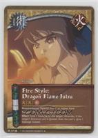 Fire Style: Dragon Flame Jutsu