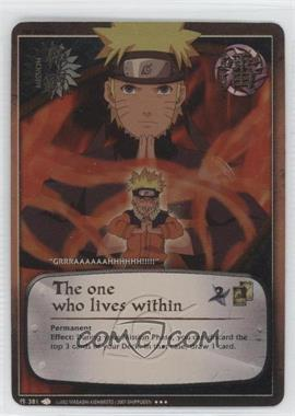2009 Naruto Collectible Card Game: A New Chronicle - Booster Pack [Base] - 1st Edition Foil #381 - The One Who Lives Within