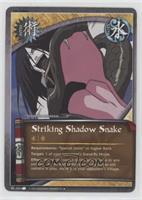 Striking Shadow Snake