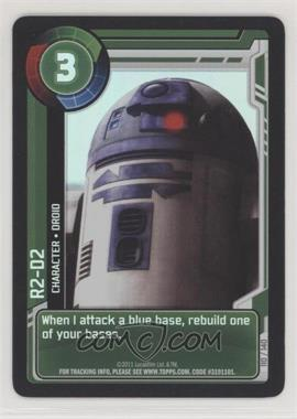 2011 Star Wars: Clone Wars Adventures - Trading Card Game [Base] #110 - R2-D2