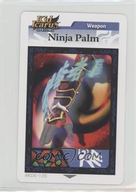 2012 Kid Icarus Uprising - Augmented Reality (AR) Cards #AKDE-135 - Weapon - Ninja Palm