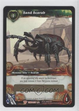 2012 World of Warcraft TCG: Tomb of the Forgotten - Loot/Insert Redemptions #1 - Sand Scarab