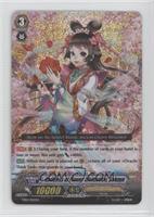 Goddess of Flower Divination, Sakuya (Prism White Sparkle)