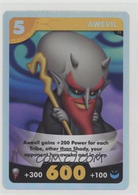 2015 Yo-Kai Watch - Trading Card Game #72 - Awevil