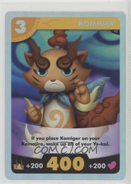 2015 Yo-Kai Watch - Trading Card Game #92 - Komiger