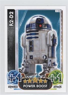2016 Star Wars: Force Attax - Trading Card Game [Base] #110 - R2-D2