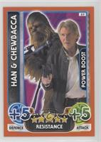 Han, Chewbacca