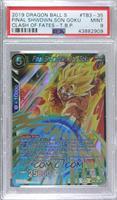 Final Showdown Son Goku (Shatter Foil) [PSA9MINT]