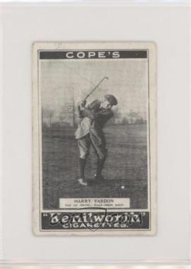 1923 Cope's Kenilworth 'Golf Strokes' - Tobacco [Base] - Small #1 - Harry Vardon [GoodtoVG‑EX]