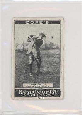 1923 Cope's Kenilworth 'Golf Strokes' - Tobacco [Base] - Small #5 - Harry Vardon [GoodtoVG‑EX]