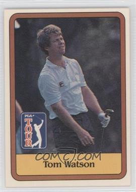 1981 Donruss Golf Stars - [Base] #1 - Tom Watson