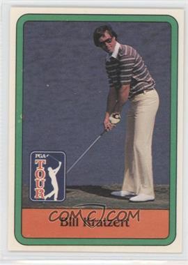 1981 Donruss Golf Stars - [Base] #12 - Bill Kratzert
