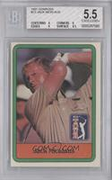 Jack Nicklaus [BGS 5.5 EXCELLENT+]