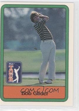 1981 Donruss Golf Stars - [Base] #19 - Bob Gilder