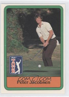 1981 Donruss Golf Stars - [Base] #26 - Peter Jacobsen
