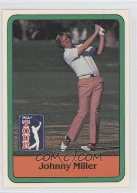 1981 Donruss Golf Stars - [Base] #30 - Johnny Miller