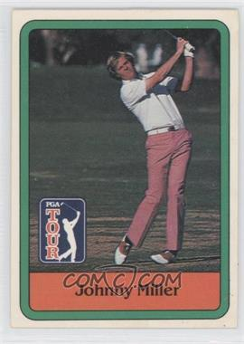 1981 Donruss Golf Stars - [Base] #30 - Johnny Miller