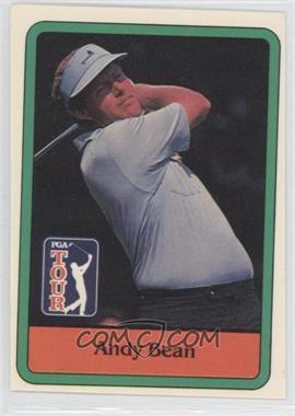 1981 Donruss Golf Stars - [Base] #4 - Andy Bean