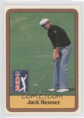 1981 Donruss Golf Stars - [Base] #45 - Jack Renner