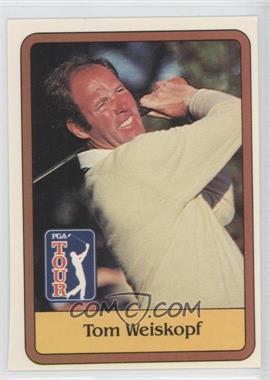 1981 Donruss Golf Stars - [Base] #47 - Tom Weiskopf