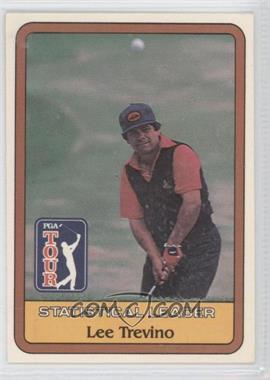 1981 Donruss Golf Stars - [Base] #LETR - Statistical Leader - Lee Trevino