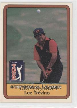 1981 Donruss Golf Stars - [Base] #LETR - Statistical Leader - Lee Trevino