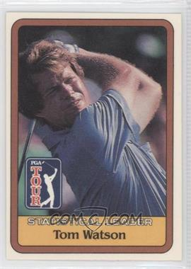 1981 Donruss Golf Stars - [Base] #TOWA -  Statistical Leader - Tom Watson