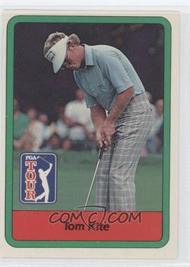 1982 Donruss Golf Stars - [Base] #1 - Tom Kite