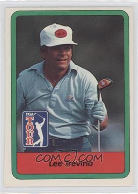 1982 Donruss Golf Stars - [Base] #23 - Lee Trevino