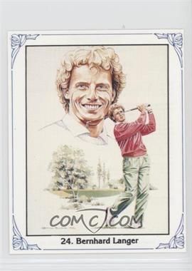 1989 Birchgrey Panasonic European Open - [Base] #24 - Bernhard Langer