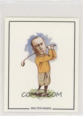 1989 G B & T W Golfing Greats - [Base] #18 - Walter Hagen