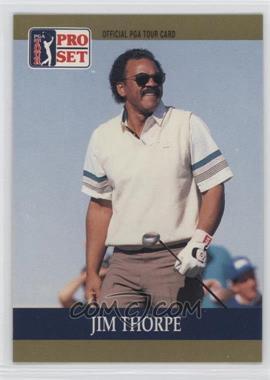 1990 PGA Tour Pro Set - [Base] #43 - Jim Thorpe