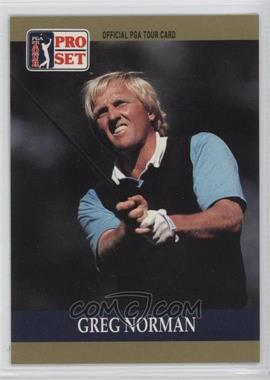 1990 PGA Tour Pro Set - [Base] #50 - Greg Norman