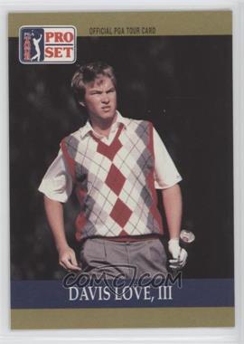 1990 PGA Tour Pro Set - [Base] #56 - Davis Love III