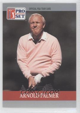 1990 PGA Tour Pro Set - [Base] #80 - Arnold Palmer