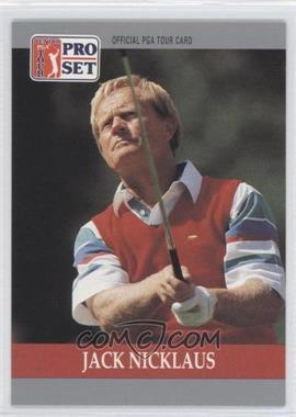 1990 PGA Tour Pro Set - [Base] #93 - Jack Nicklaus