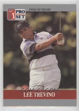 1990 PGA Tour Pro Set - Prototype #LETR.1 - Lee Trevino (Smaller Pro Set Logo)