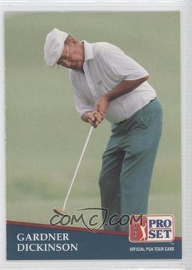 1991 Pro Set - [Base] #196 - Gardner Dickinson