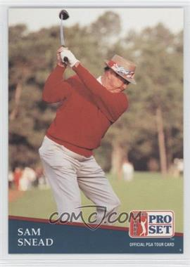 1991 Pro Set - [Base] #235 - Sam Snead