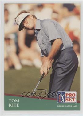 1991 Pro Set - [Base] #27 - Tom Kite
