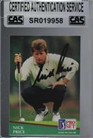 Nick Price [CAS Certified Sealed]