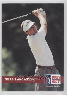 1992 Pro Set Golf - [Base] #123 - Neal Lancaster
