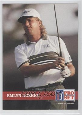 1992 Pro Set Golf - [Base] #130 - Emlyn Aubrey