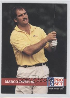 1992 Pro Set Golf - [Base] #138 - Marco Dawson